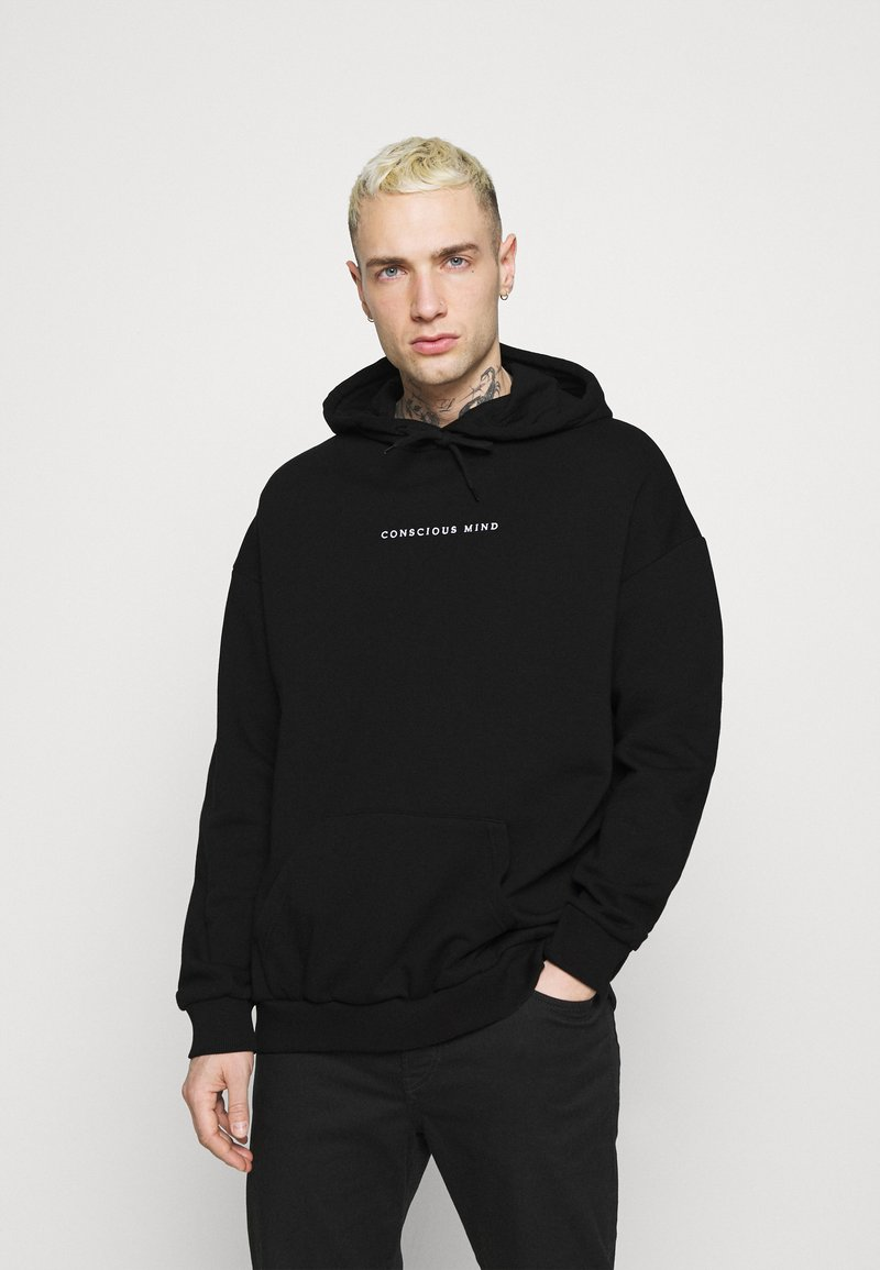 Zign - Sweat à capuche - black