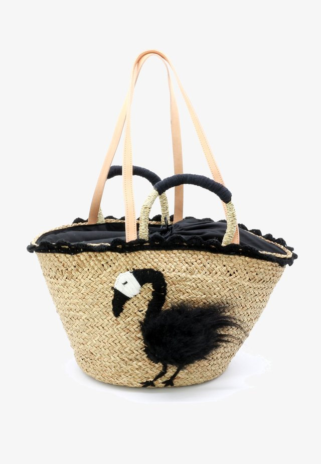 FLAMINGO PLUS - Tote bag - black