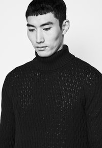 Les Deux - FERDINAND TURTLENECK - Jumper - dark navy - 5