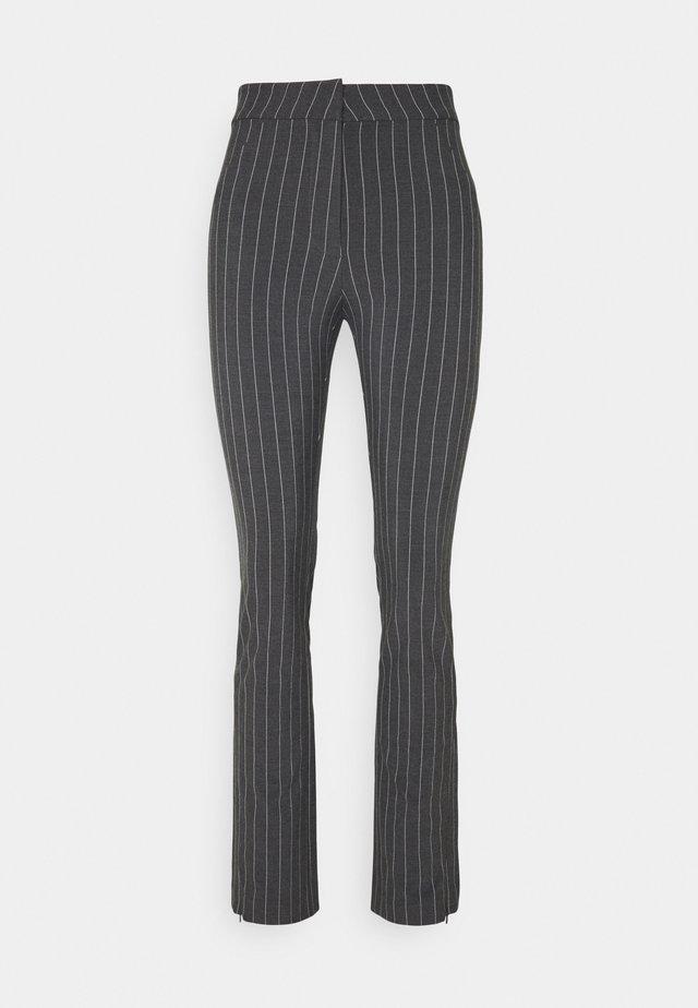 ALECIA TROUSER - Pantaloni - antracite