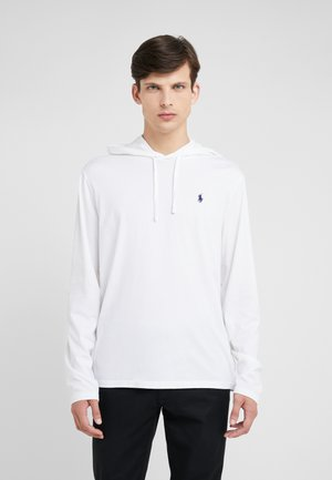 Sweat à capuche - white/navy