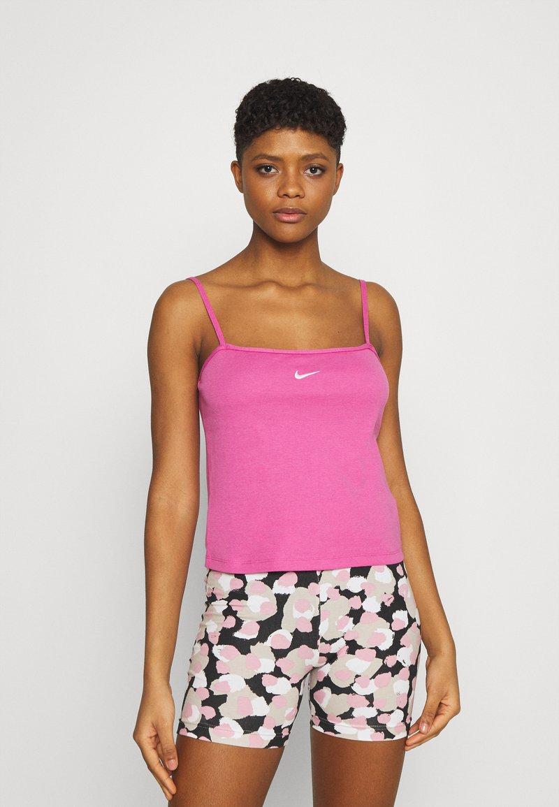 Nike Sportswear - TANK CAMI - Linne - active fuchsia/white