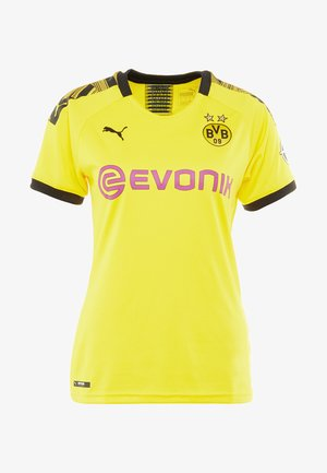 BVB BORUSSIA DORTMUND HOME REPLICA WITH EVONIK LOGO  - Squadra - cyber yellow/black