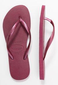 Havaianas - KIDS SLIM - Pool shoes - bordeaux - 3