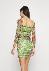 NEW girl ORDER - TROPICAL ANIMAL DRESS - Day dress - multi - 2