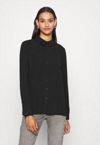 JDY - JDYLION - Button-down blouse - black - 0