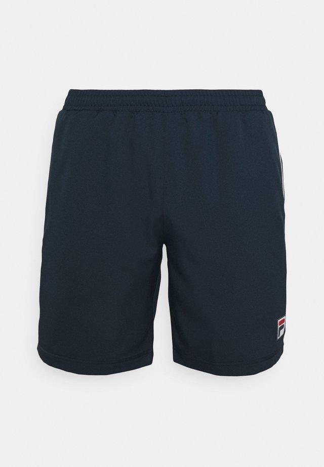 SHORTS LEON - Sportovní kraťasy - peacoat blue