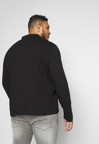 Burton Menswear London - 2 PACK - Polo shirt - black/grey - 2