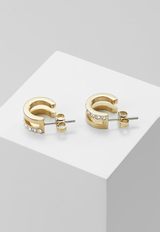 LOGUE  - Earrings - shiny gold-coloured