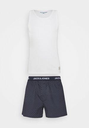 JACWALTER  - Pyžamo - white/blue