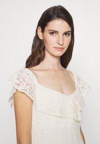 Lauren Ralph Lauren - LONG GOWN - Occasion wear - ivory - 3