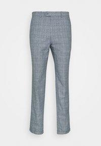 Jack & Jones PREMIUM - JPRRAY CHECK TROUSER - Trousers - grey melange - 5