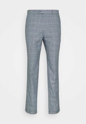 JPRRAY CHECK TROUSER - Pantaloni - grey melange