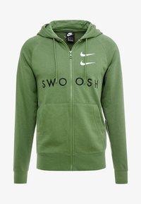 M NSW HOODIE FZ FT - Zip-up hoodie - treeline/black