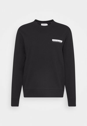 CHEST BOX LOGO - Felpa - black