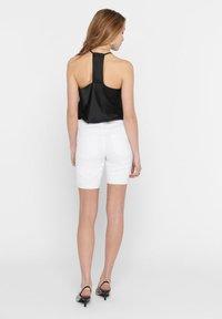 ONLY - Short en jean - white - 2