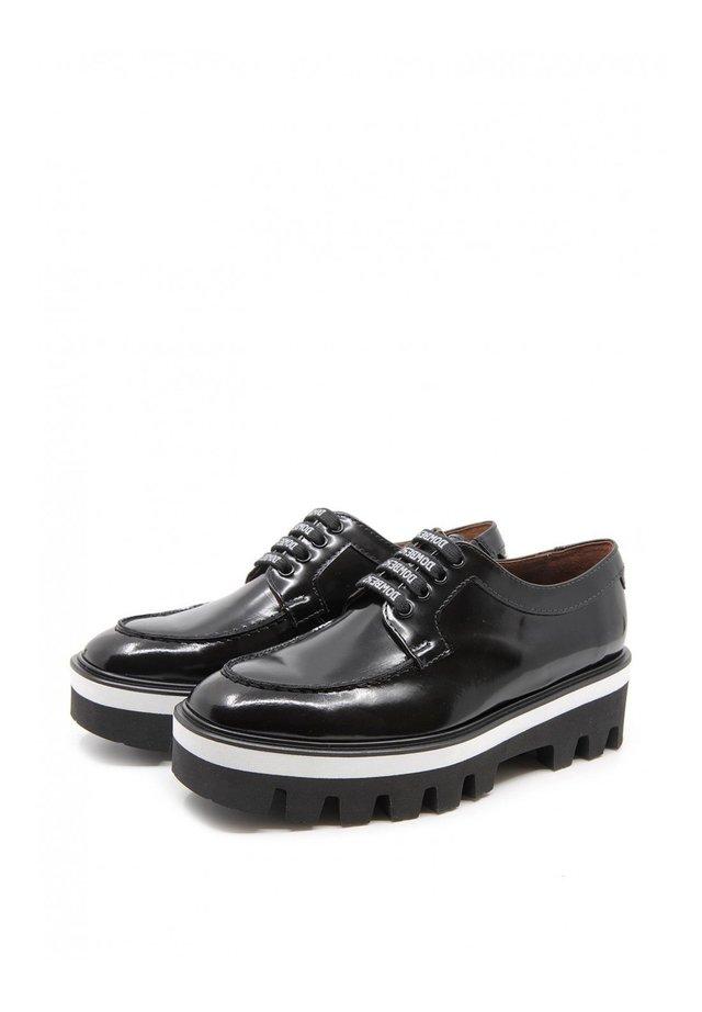 GENUINE - Chaussures à lacets - Black