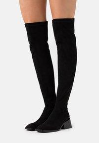 Jeffrey Campbell - PATRIK  - Over-the-knee boots - black - 0