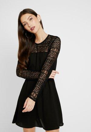 ONLDEMI SHORT DRESS - Day dress - black