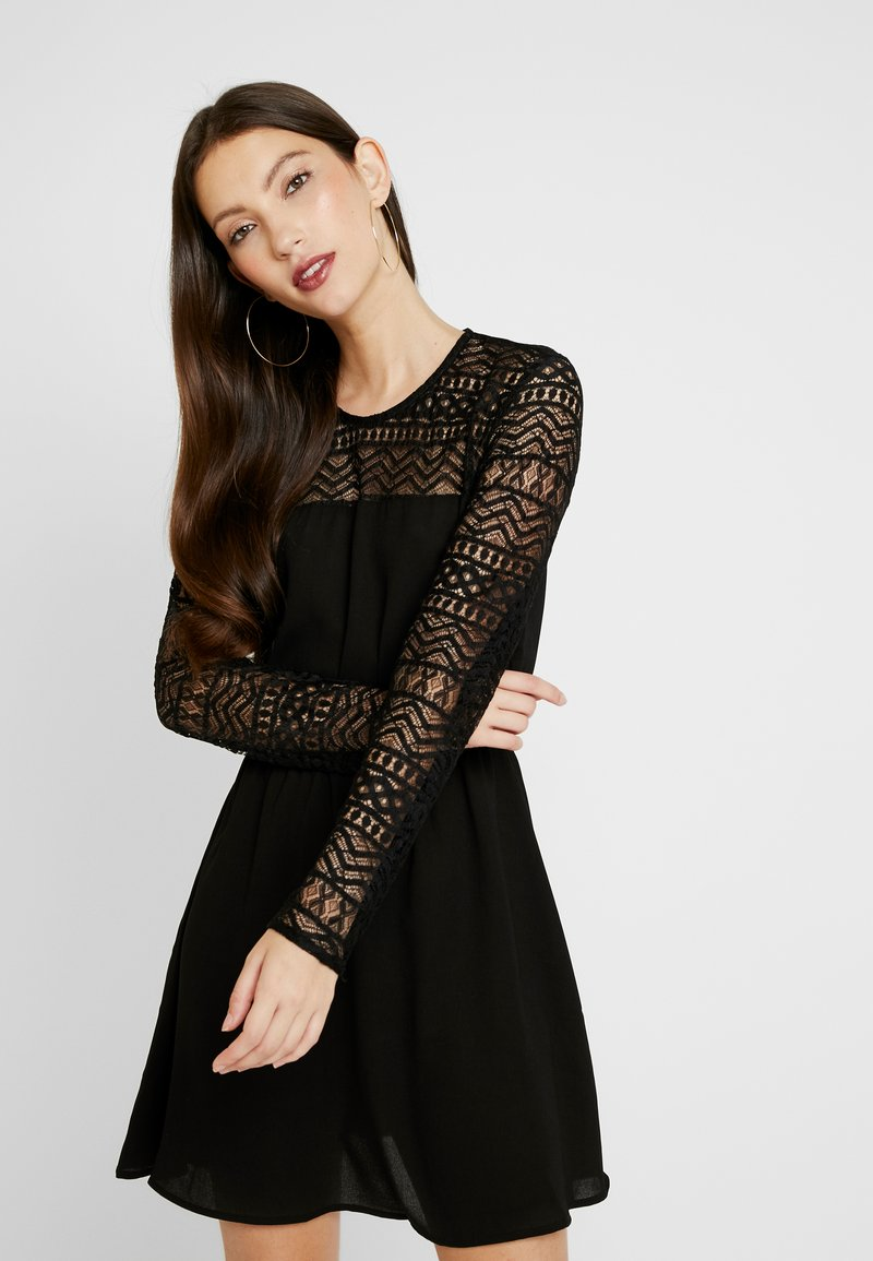 ONLY - ONLDEMI SHORT DRESS - Robe d'été - black