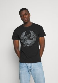 Replay - TEE - Print T-shirt - black - 0