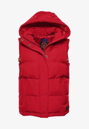 EVEREST - Waistcoat - high risk red