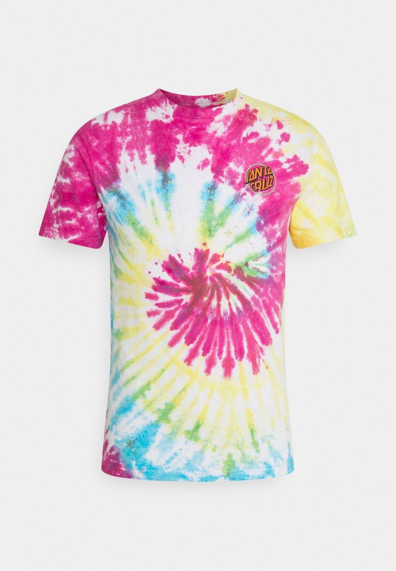 Santa Cruz - TOXIC HAND UNISEX  - Print T-shirt - multi-coloured