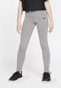 Nike Performance - Legging - carbon/cool grey/black - 0