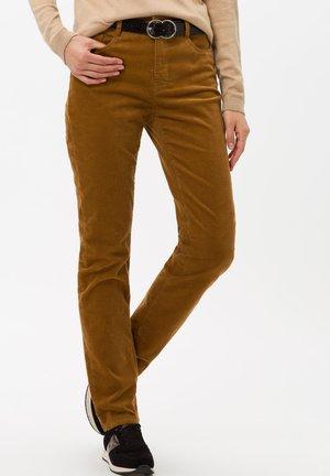 STYLE CAROLA - Trousers - walnut