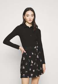 Gina Tricot - POPPY - Polo shirt - black - 0