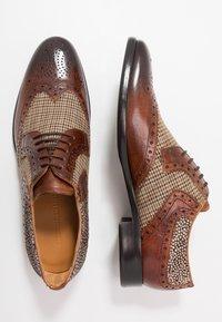 Melvin & Hamilton - CLINT - Lace-ups - wood - 1
