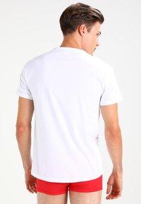Emporio Armani - CREW NECK 2 PACK - Maglietta intima - white/navy blue - 2