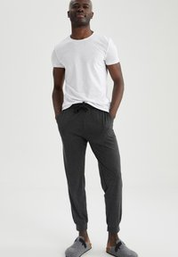 DeFacto - Tracksuit bottoms - anthracite - 1