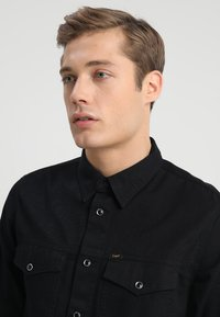 Lee - WORKER WESTERN - Chemise - black - 3