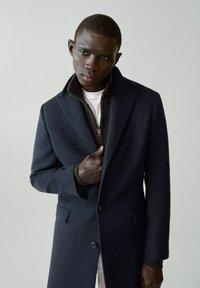 Mango - MICHIGAN-I - Classic coat - bleu - 3
