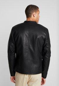 Tiffosi - EAGLE - Faux leather jacket - black - 2