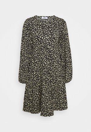 ONLZILLE SHORT DRESS - Jerseykjole - black