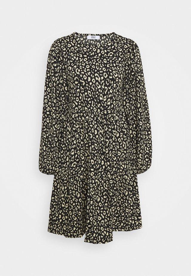 ONLZILLE SHORT DRESS - Jersey dress - black