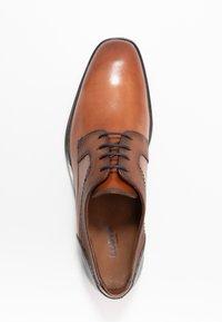 Lloyd - GILBERT - Smart lace-ups - cioccolato/ocean - 1