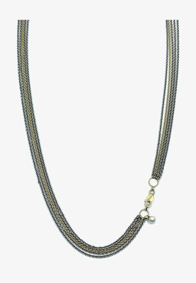 GSE COLLIER EXTENDED - Ketting - grijs goud