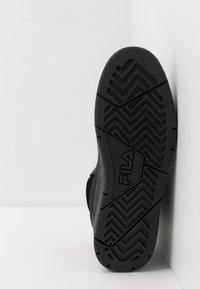 Fila - KNOX MID - High-top trainers - black - 4