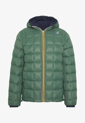UNISEX JAQUES THERMO PLUS DOUBLE - Veste d'hiver - blue maritime/green dark forest