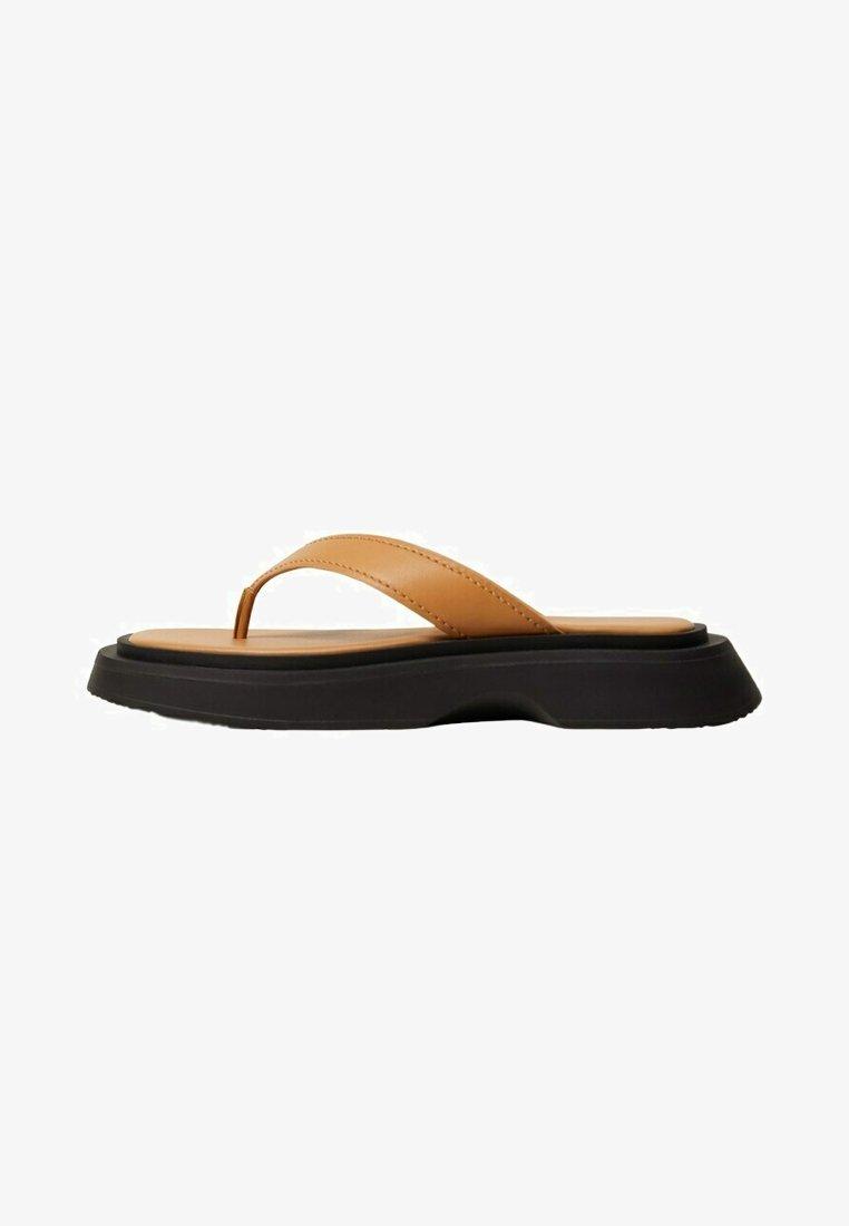 Mango - Pool shoes - middenbruin
