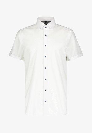 BODY FIT KURZARM - Shirt - weiss