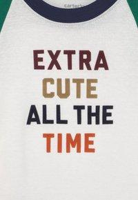 Carter's - XTRACUTE SET - Print T-shirt - dark blue/green - 2