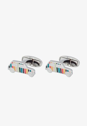 CUFFLINK MINI CAR - Manschettknapp - silver-coloured