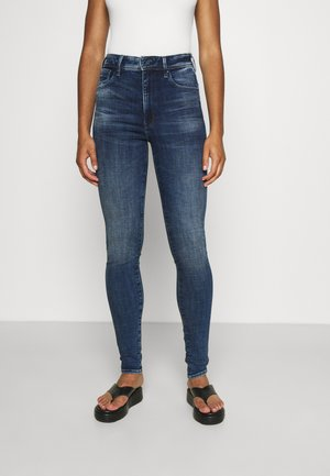 KAFEY ULTRA HIGH SKINNY - Jeans Skinny Fit - faded baltic sea