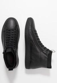 HUGO - FUTURISM HITO - Sneakersy wysokie - black - 1