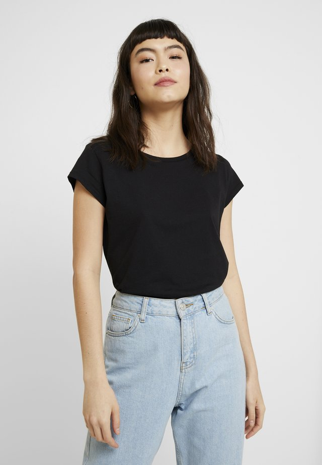 ORGANIC FAVORITE TEASY - Print T-shirt - black