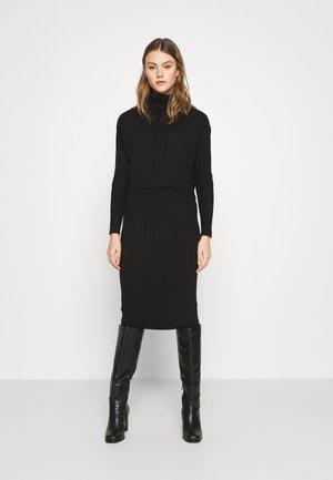 2-IN-1 - Jumper dress - black
